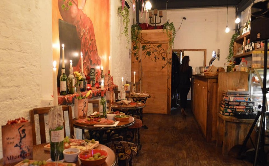 Alhambra Wine Bar - cosiest bars and pubs in Liverpool