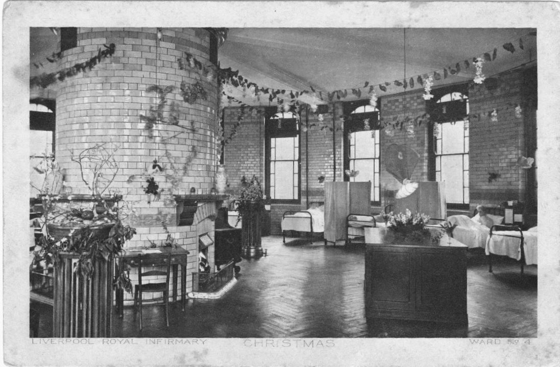 Liverpool Royal Infirmary Liverpool Christmas 1920s