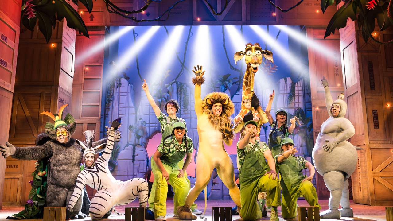 Madagascar the Musical at the Liverpool Empire