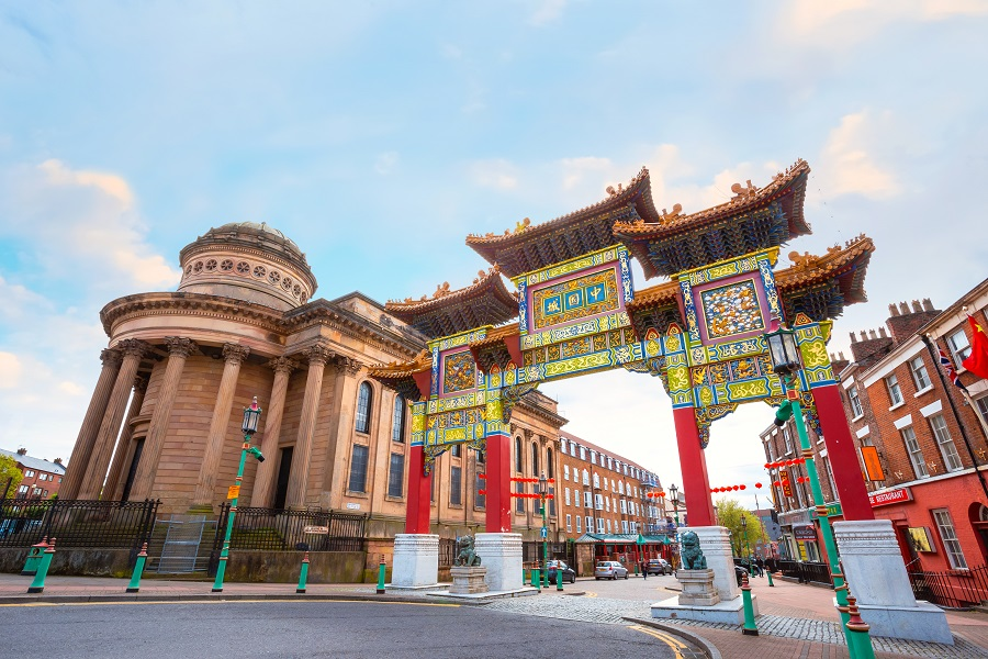 Chinatown - Liverpool history