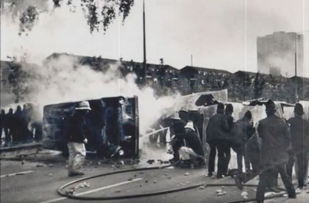 Toxteth Riots - Liverpool history