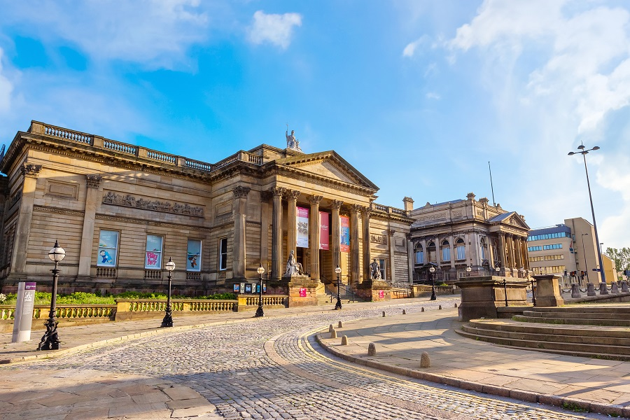 Walker Art Gallery - Liverpool hitstory